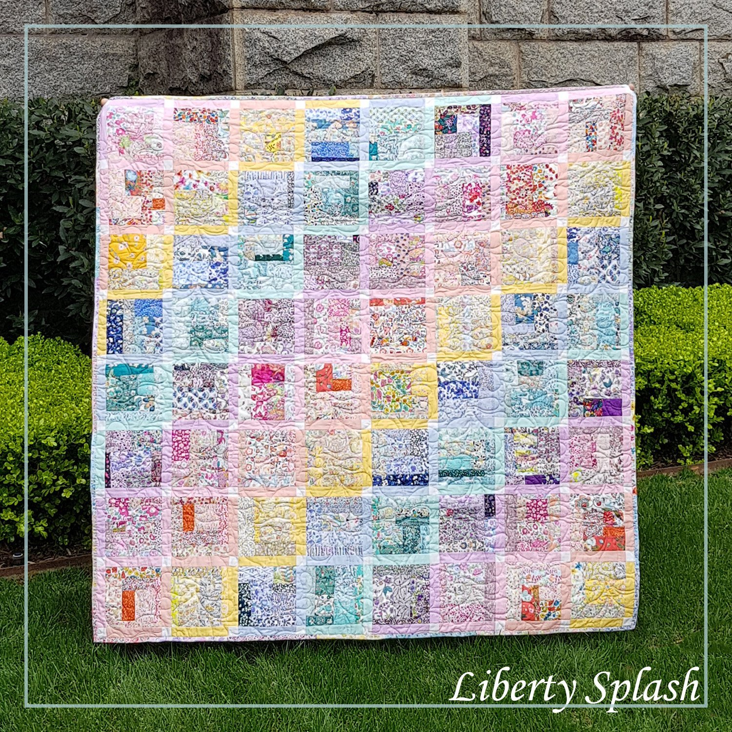 Lilabelle Lane Creations - Liberty Splash Pattern