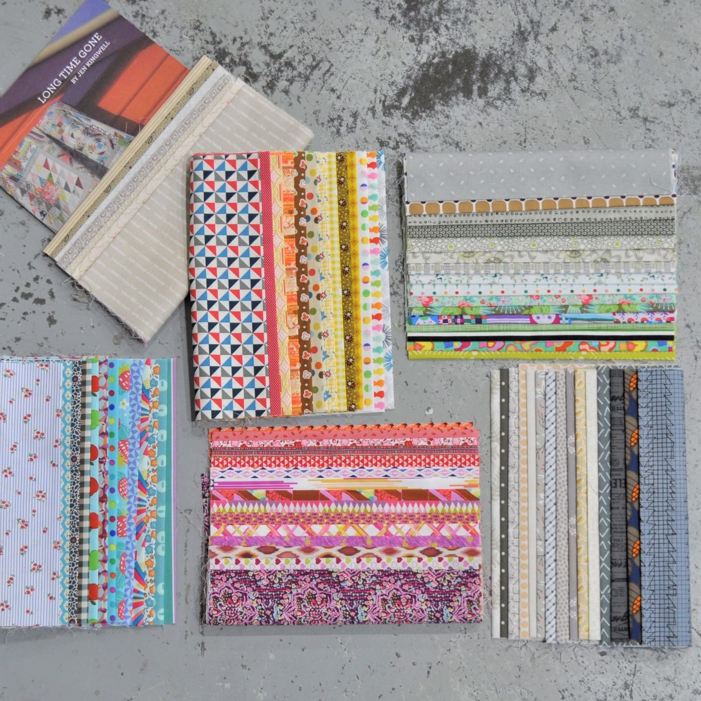 Long Time Gone - Large Starter Kit - Fabric & Pattern Booklet