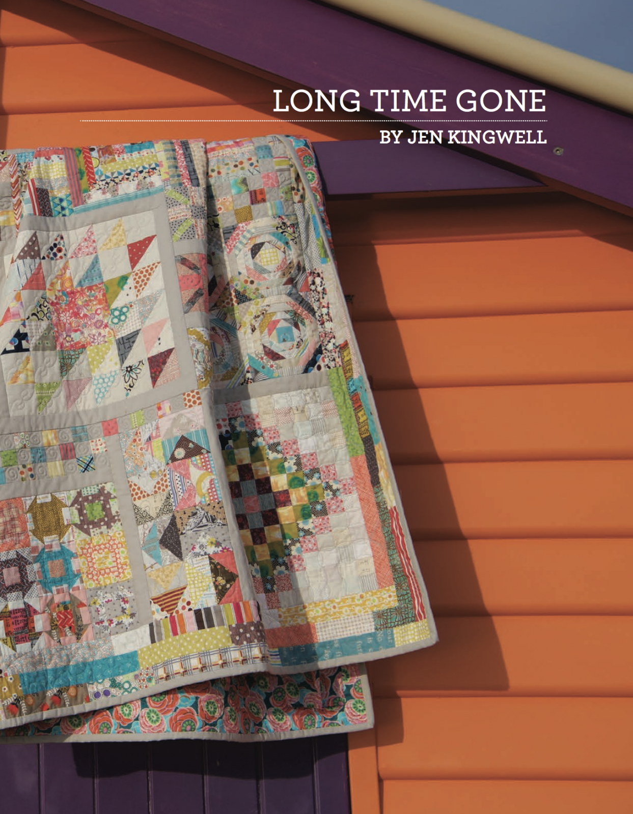 Long Time Gone Booklet by Jen Kingwell