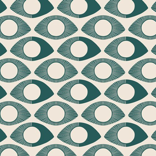 Art Gallery Fabrics - Luna & Laurel - Visions Woodblock