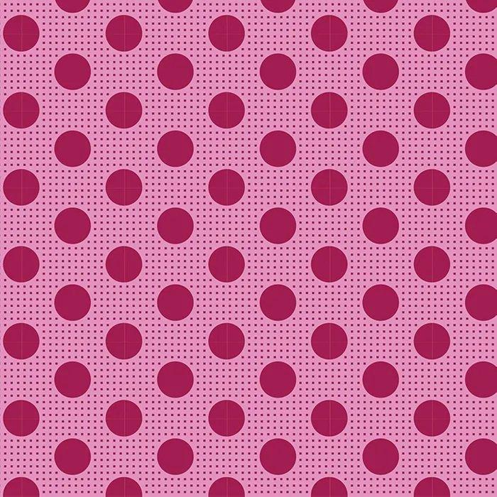 Tilda - Medium Dots - Maroon