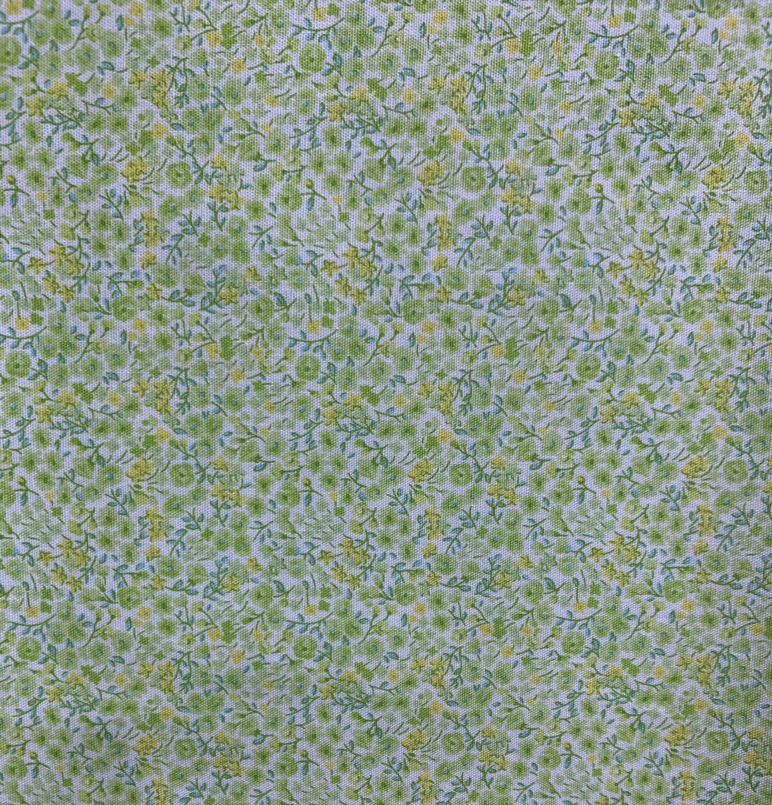 Japanese - Printed Poplin - Micro Ditsy Floral