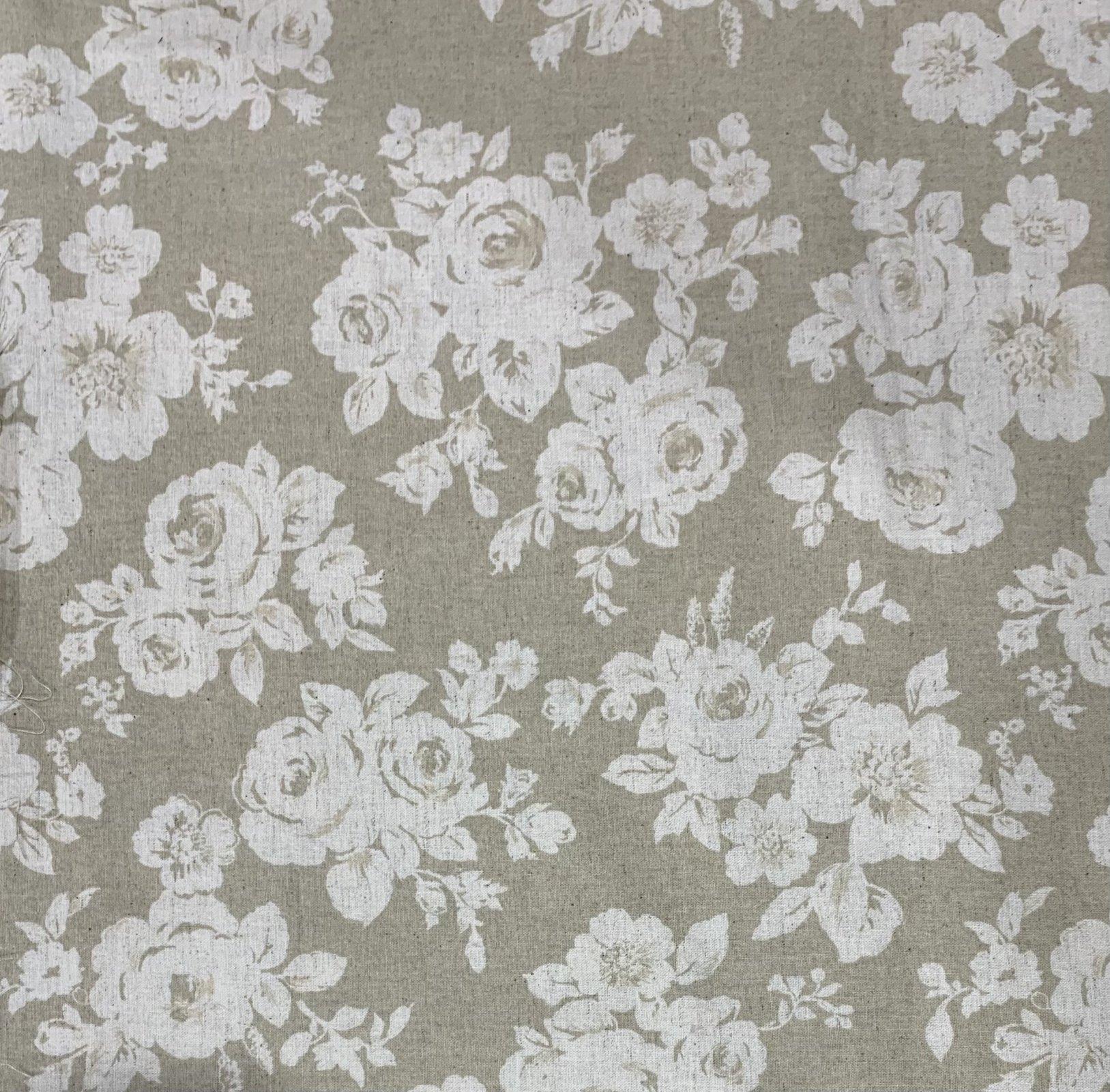 Kokka Fabric - Natural Floral