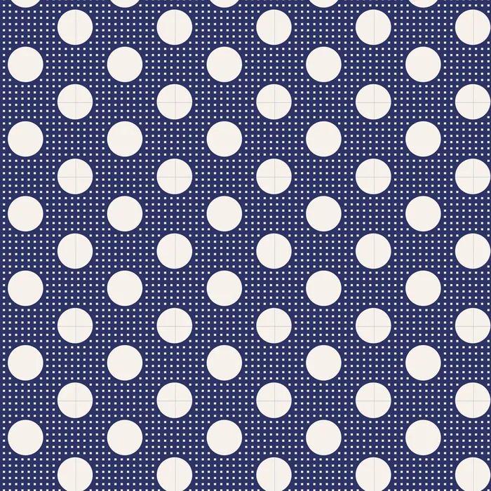 Tilda - Medium Dots - Night Blue