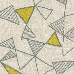 Kokka Fabrics - Trefle Cucito Triangle - Cream