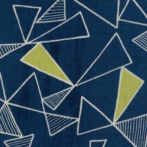 Kokka Fabrics - Trefle Cucito Triangle - Navy
