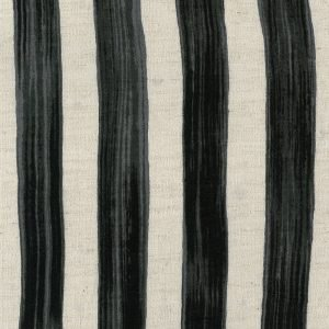 Kokka Fabrics - Trefle Cucito Stripe - Charcoal