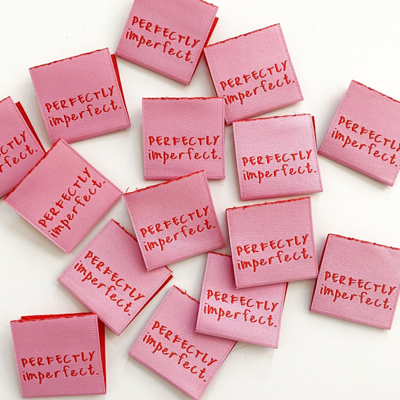 Kylie and the Machine Labels - Perfectly  Imperfect - Pink