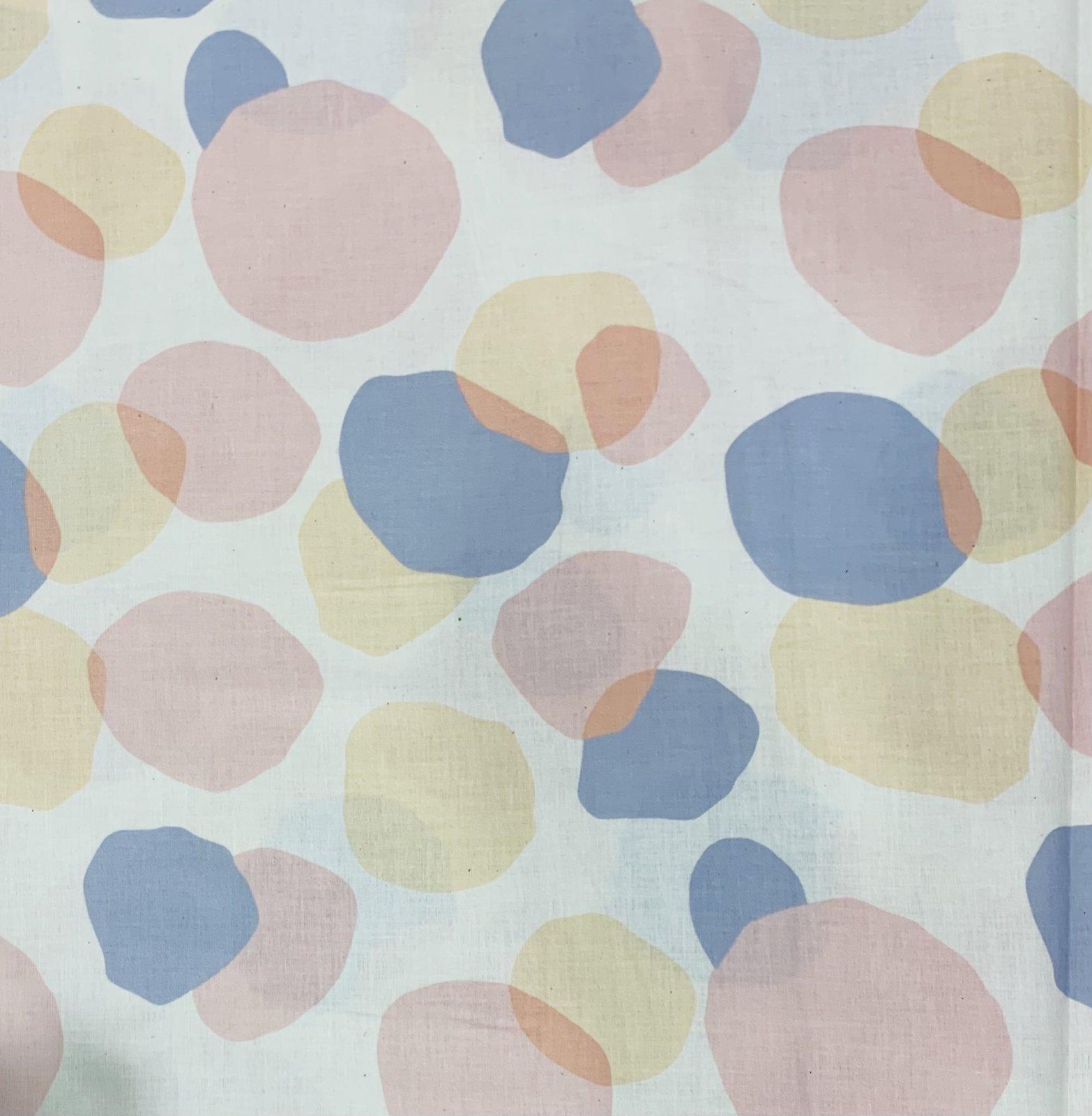 Kokka Fabric - Irregular Large Spot - Pink