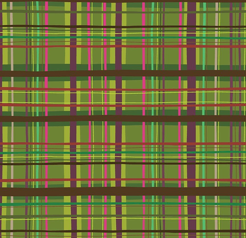 Free Spirit - Kathy Doughty - Earth Made Paradise - Plaid Cool