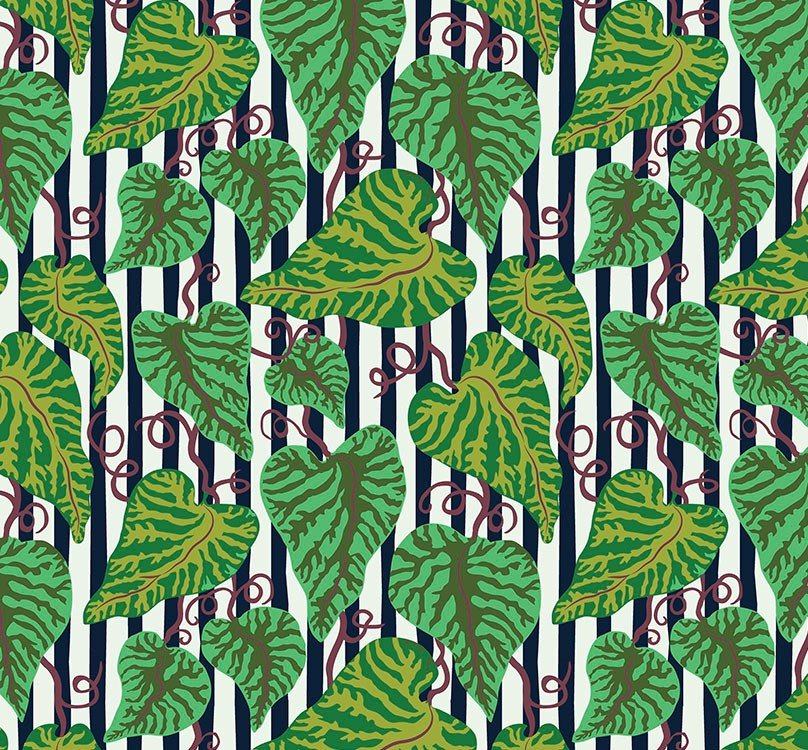 Free Spirit - Kathy Doughty - Earth Made Paradise - Tropical Leaf Cool