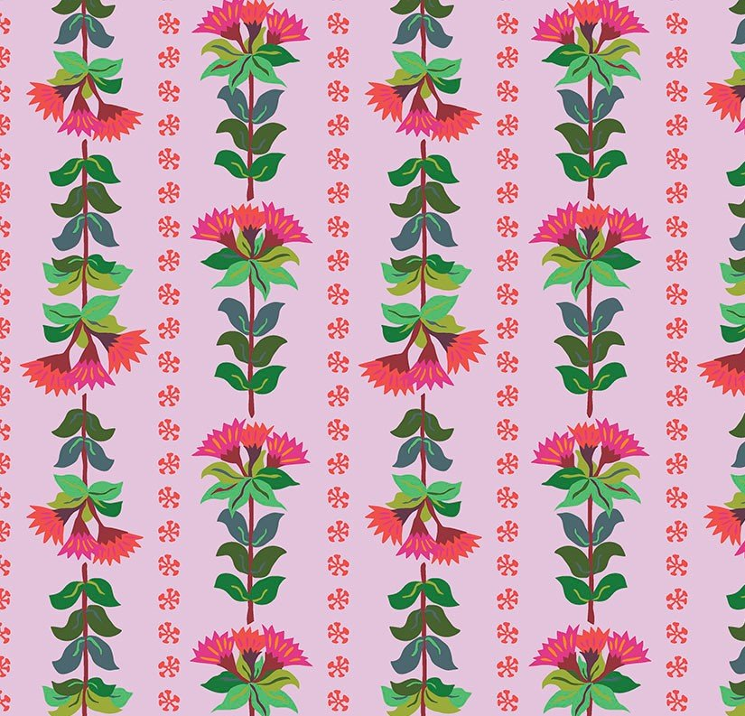 Free Spirit - Kathy Doughty - Earth Made Paradise - Wallpaper Lilac