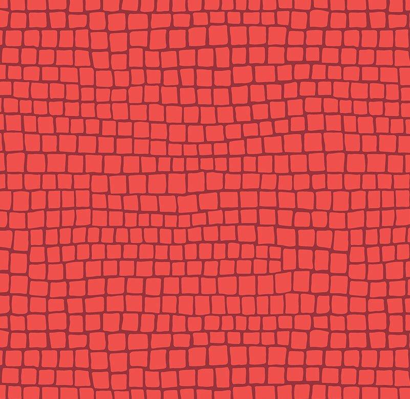 Free Spirit - Kathy Doughty - Earth Made Paradise - Brick Coral