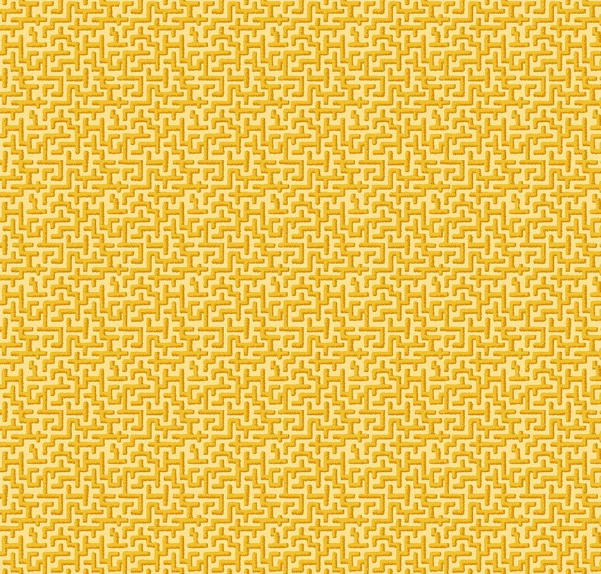 Free Spirit - Odile Bailloeul - Jardin De La Reine - Palace Maze Gold