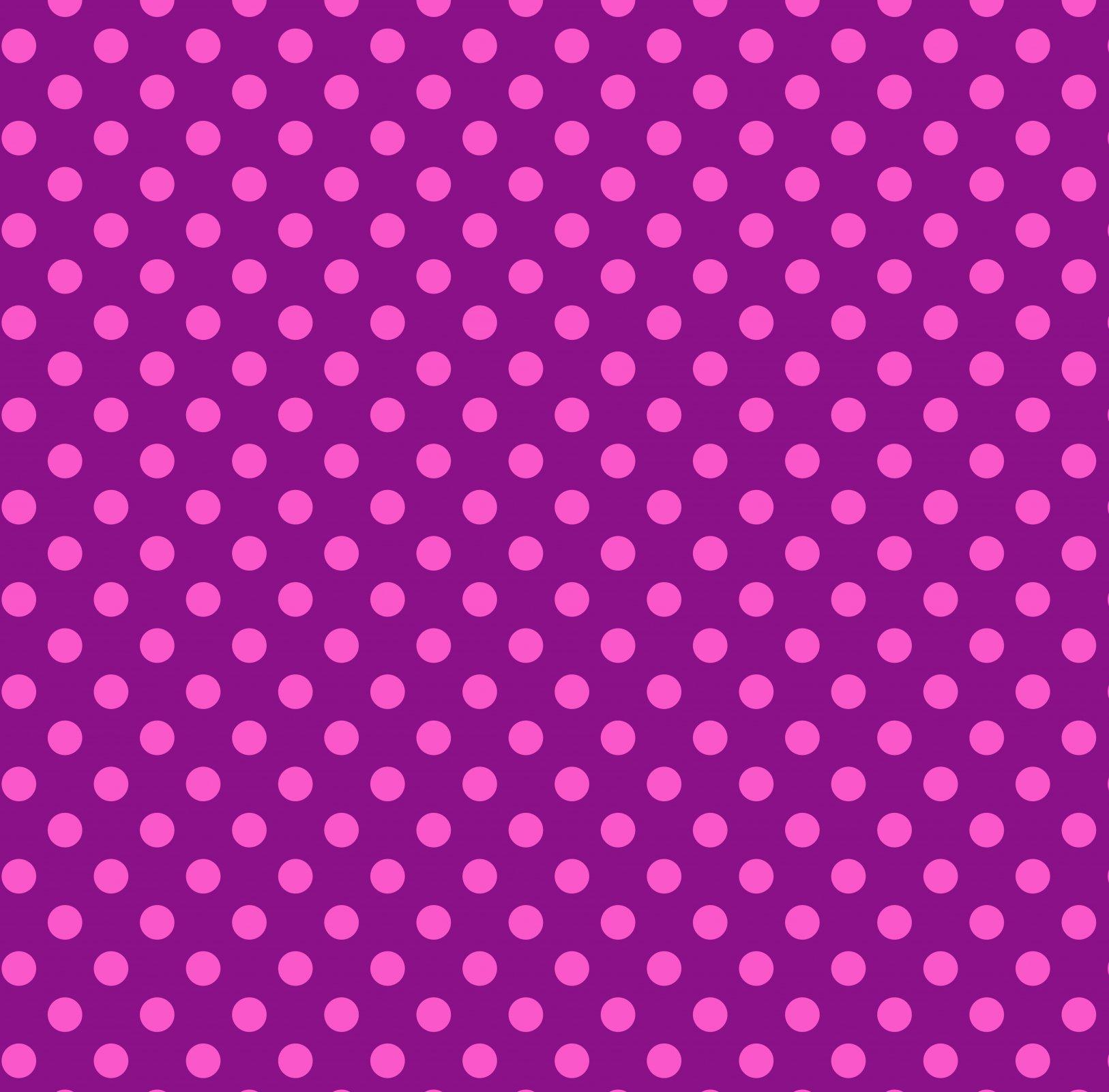 Free Spirit - Tula Pink - True Colours - Pom Poms - Foxglove