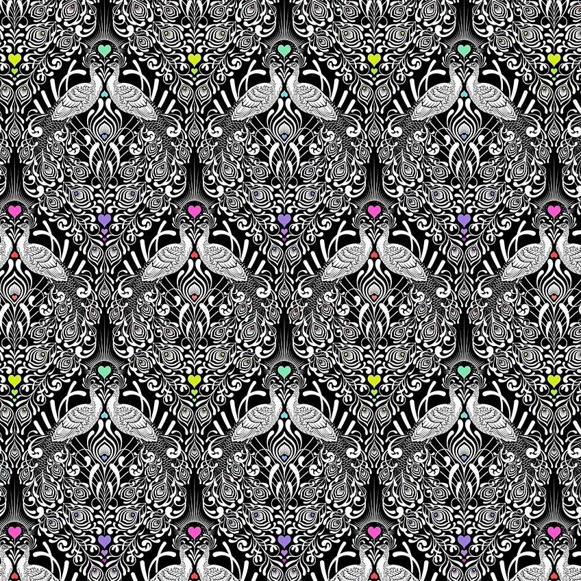 Free Spirit - Tula Pink - Linework - Tall Tails