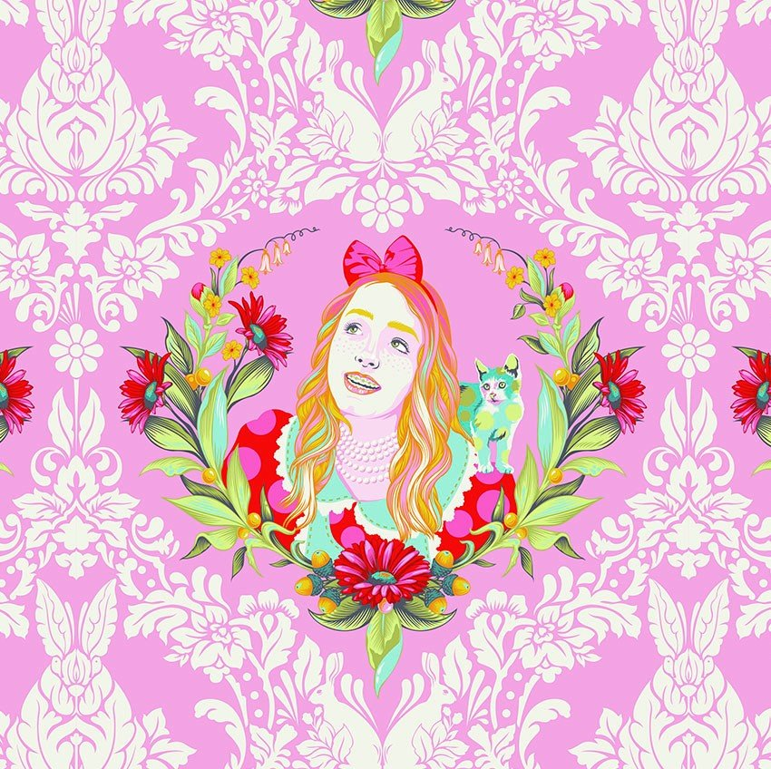 Free Spirit - Tula Pink - Curiouser and Curiouser - Alice - Wonder