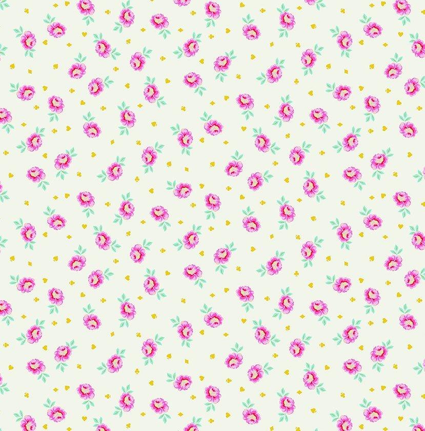 Free Spirit - Tula Pink - Curiouser and Curiouser - Baby Buds - Sugar