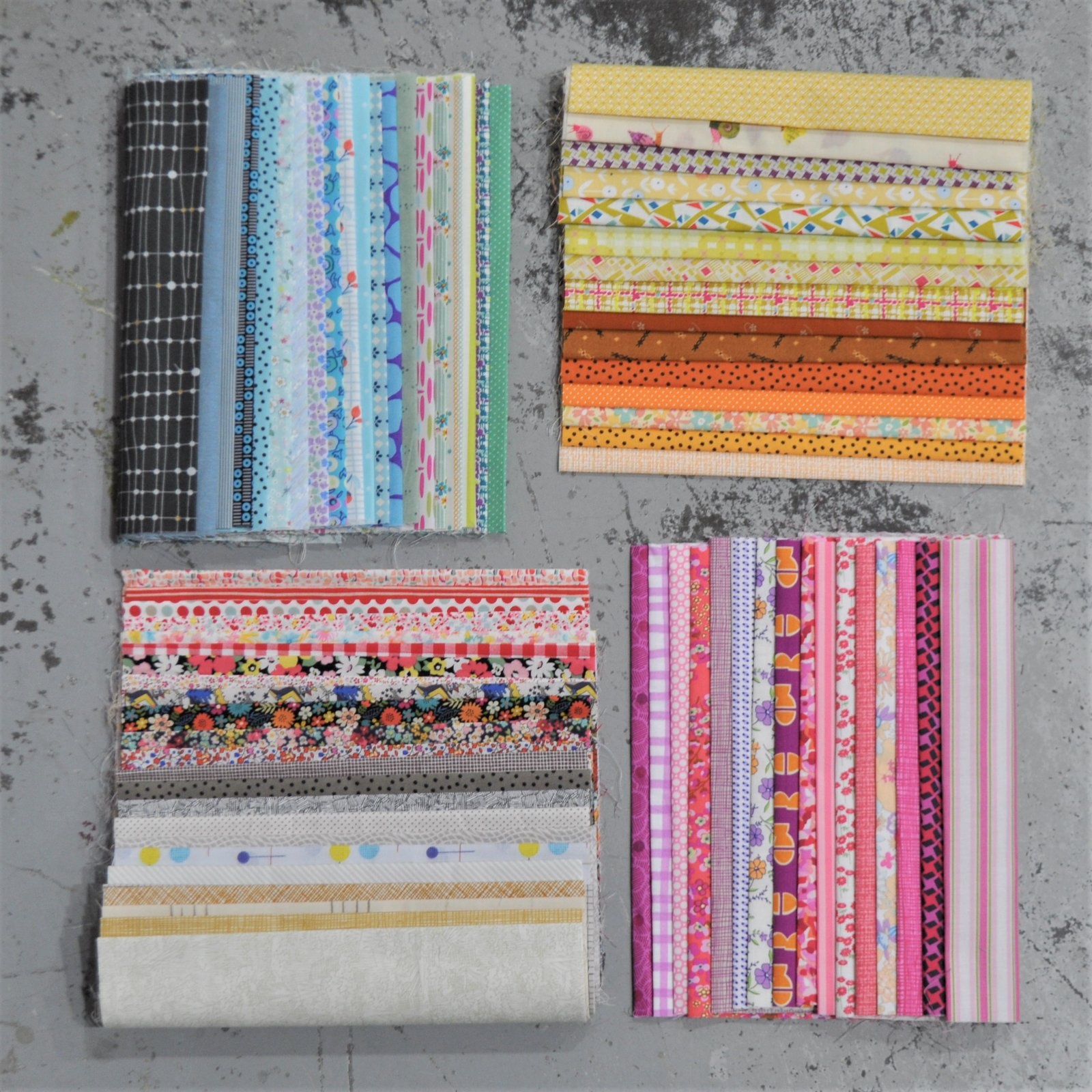 Queens Cross - Starter Kit - Fabric & Pattern