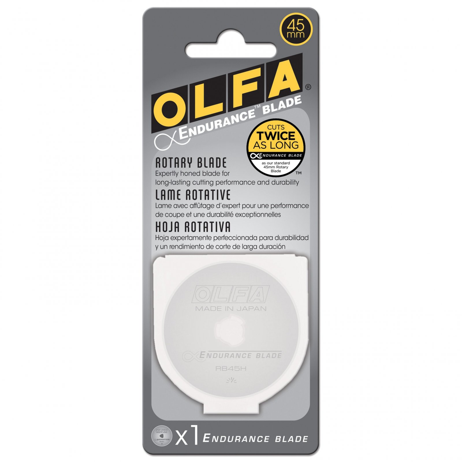 Olfa Endurance Rotary Blades - 1 Pack 45mm