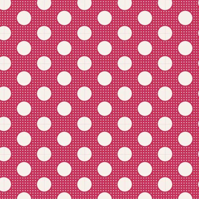 Tilda - Medium Dots - Red
