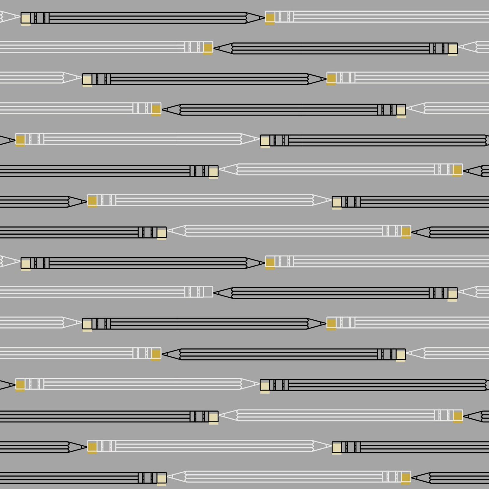 Paintbrush Studio - Ring Ring - Pencil Stripe - Grey