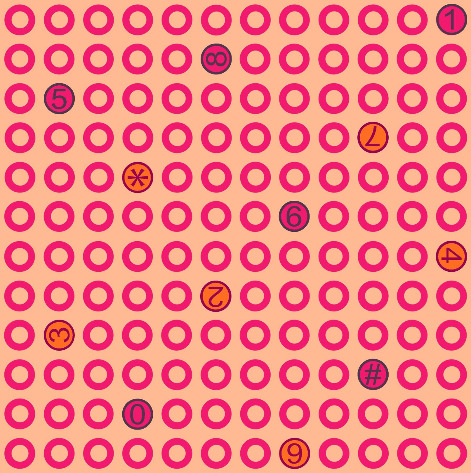 Paintbrush Studio - Ring Ring - Dots - Pink