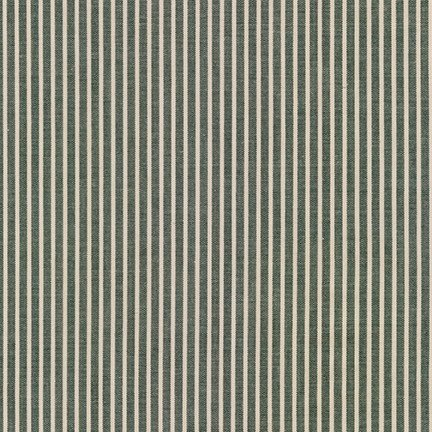 Robert Kaufman - Crawford Stripes - Forest