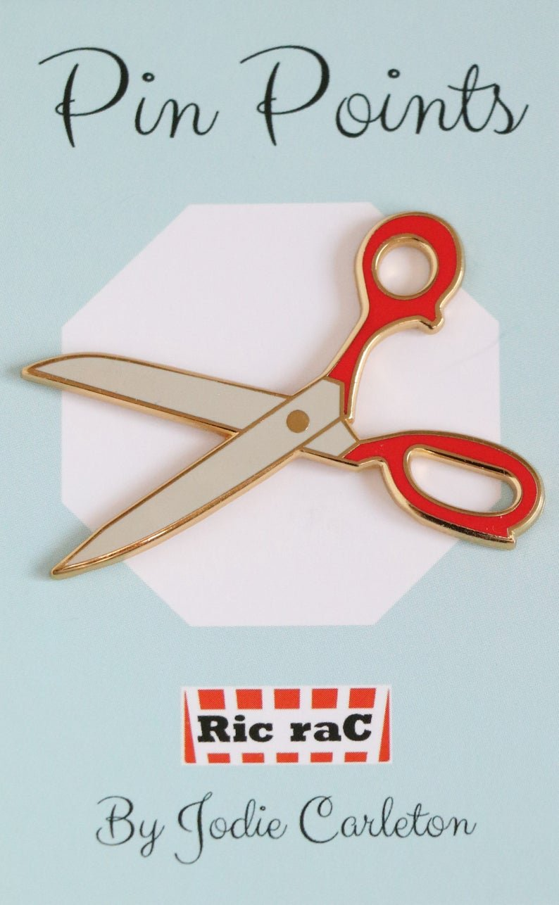 Pin Points - Jodie Carleton - Green Scissors