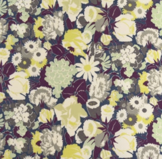 Yuwa - Y & Y Collection - Green/Purple Floral
