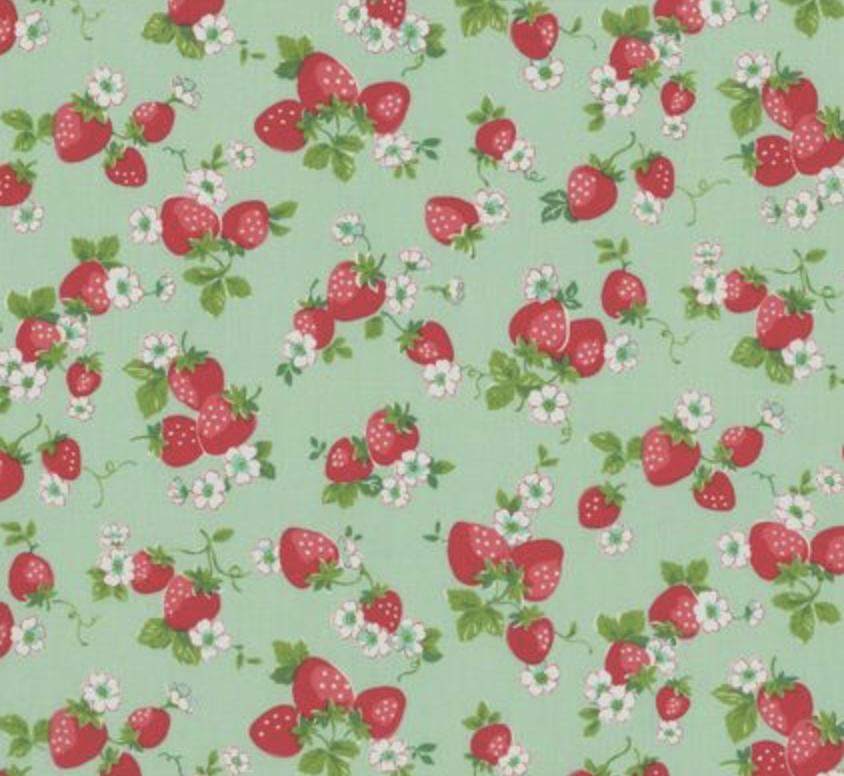Yuwa - Atsuko Matsuyama - 30's Collection - Green/Red Berries