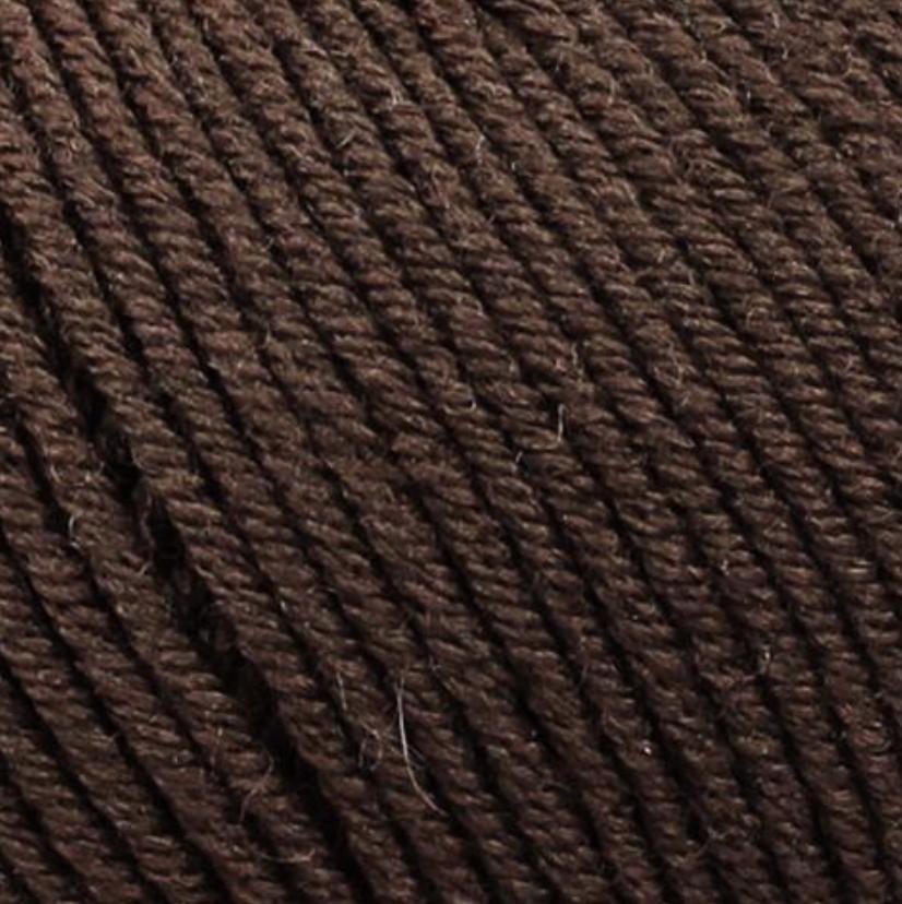 Bellissimo yarn - Bellissimo 8 - 50g/125m - Brown