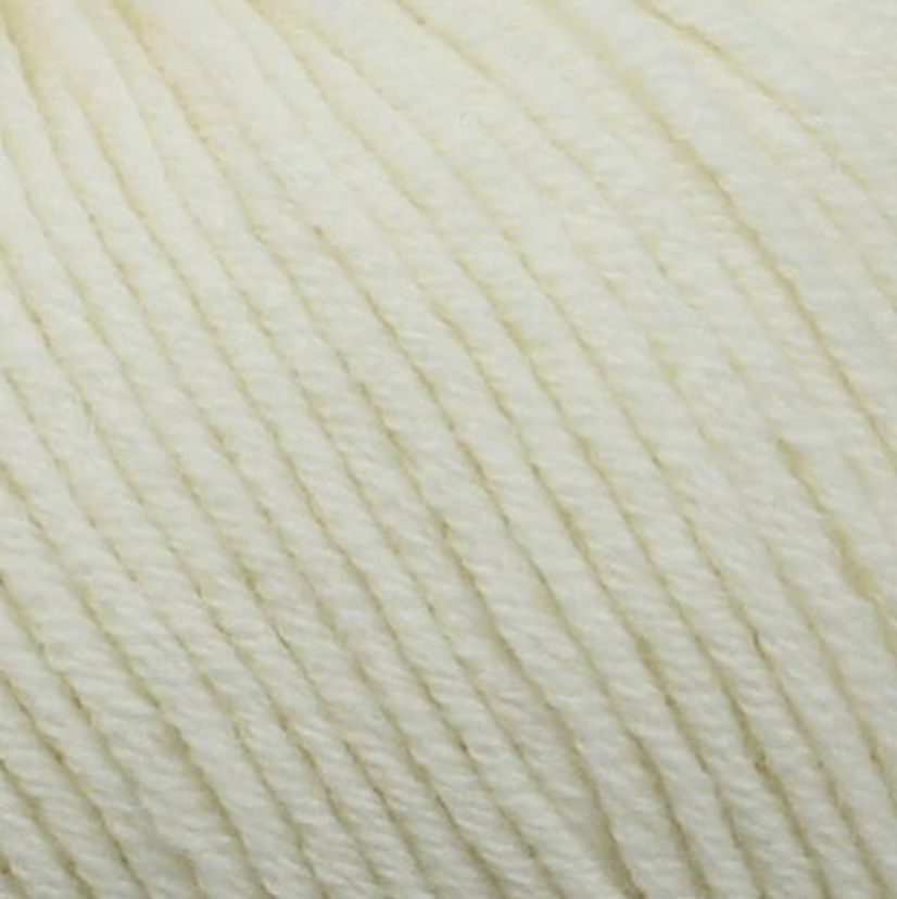 Bellissimo yarn - Bellissimo 8 - 50g/125m - Cream