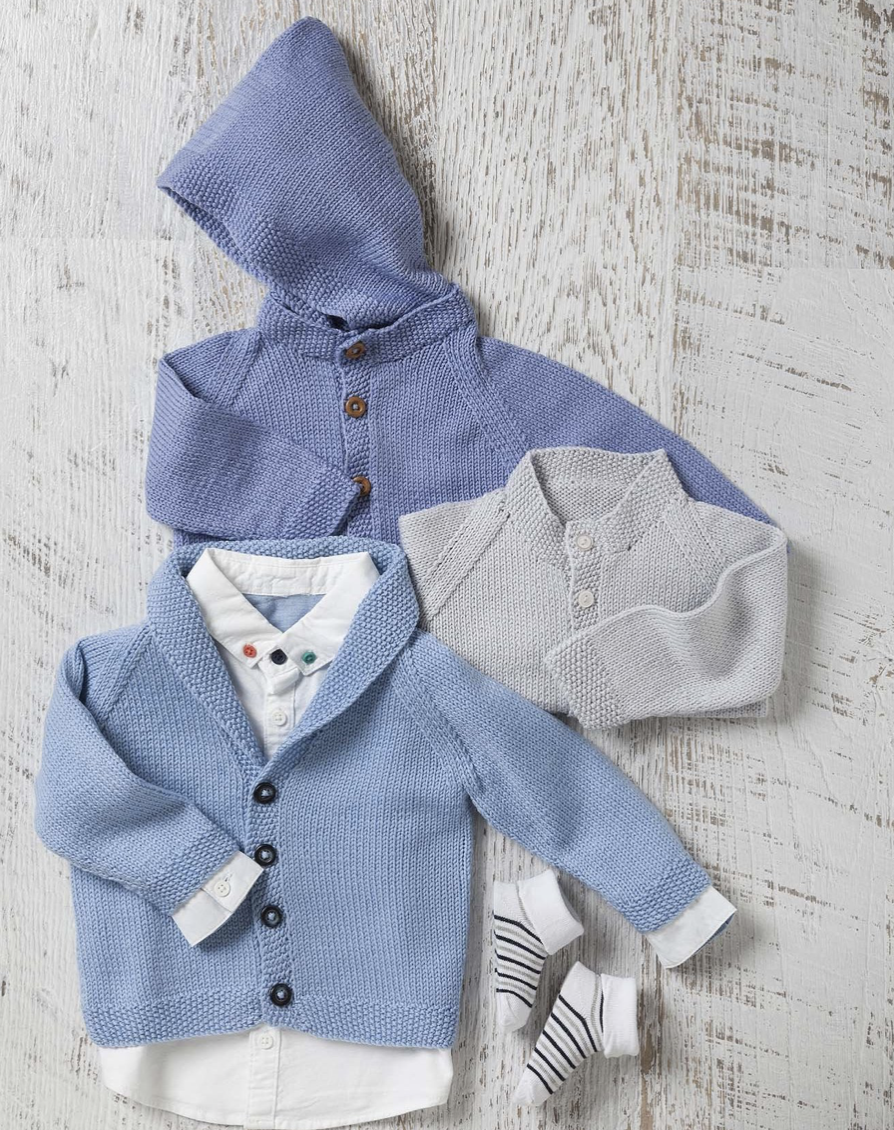 Bellissimo - TX346 BABY CLASSIC CARDIGANS - Sweater Pattern
