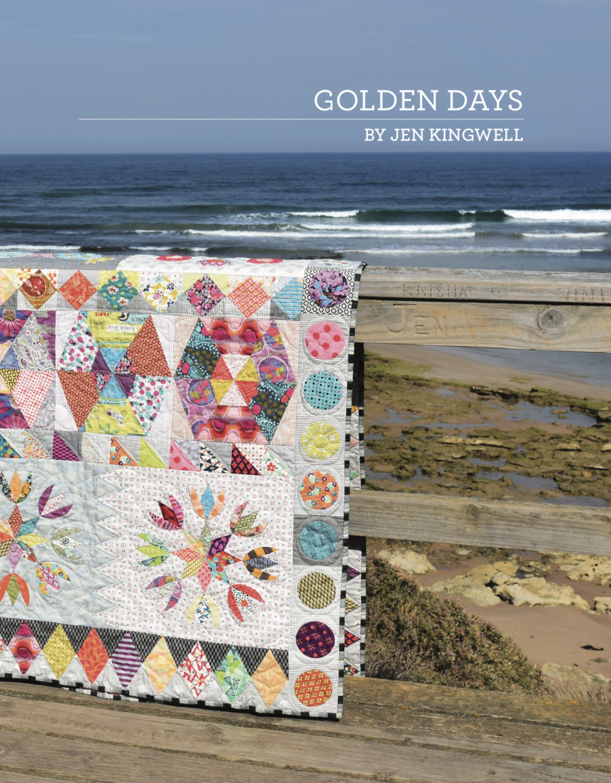 Golden Days  Booklet by Jen Kingwell
