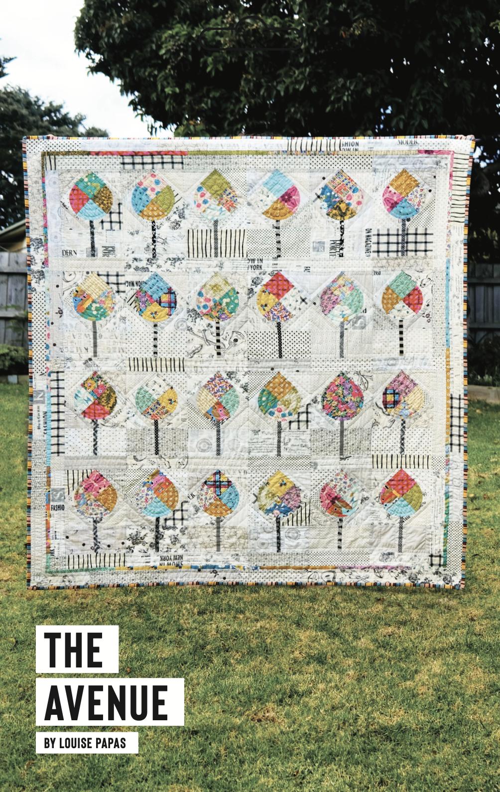 The Avenue Pattern by Louise Papas