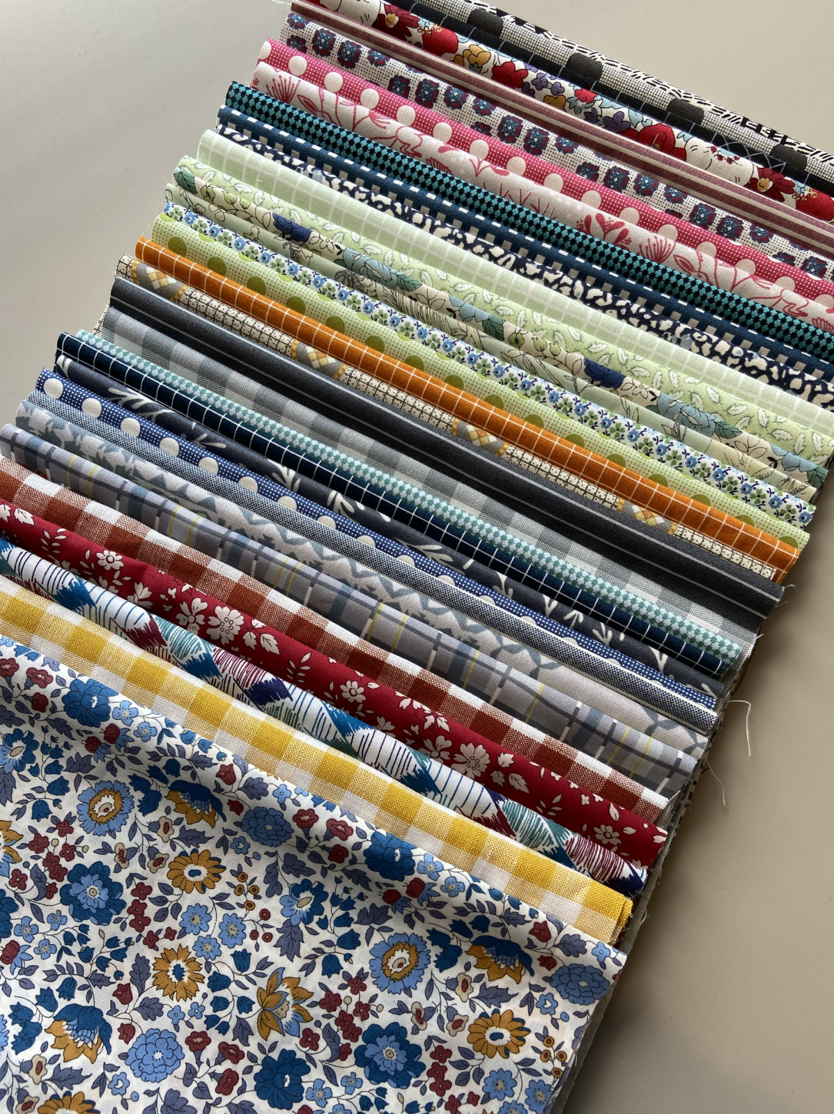 Wensleydale Quilt Starter Kit - Fabric only