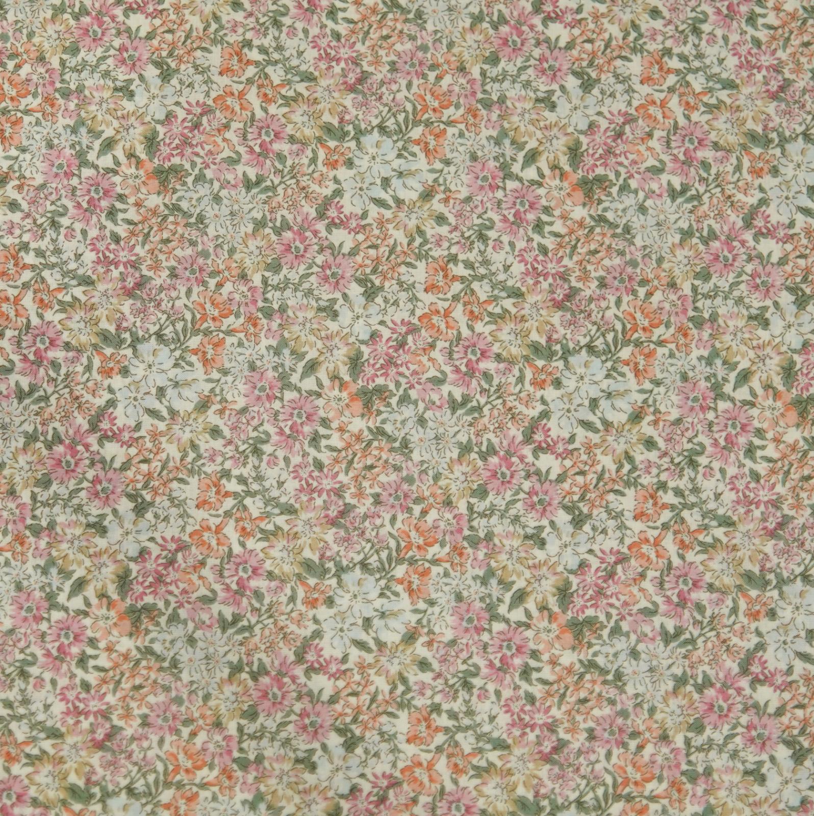 Hokkoh Fabric - Lawn Fabric - Pretty Floral