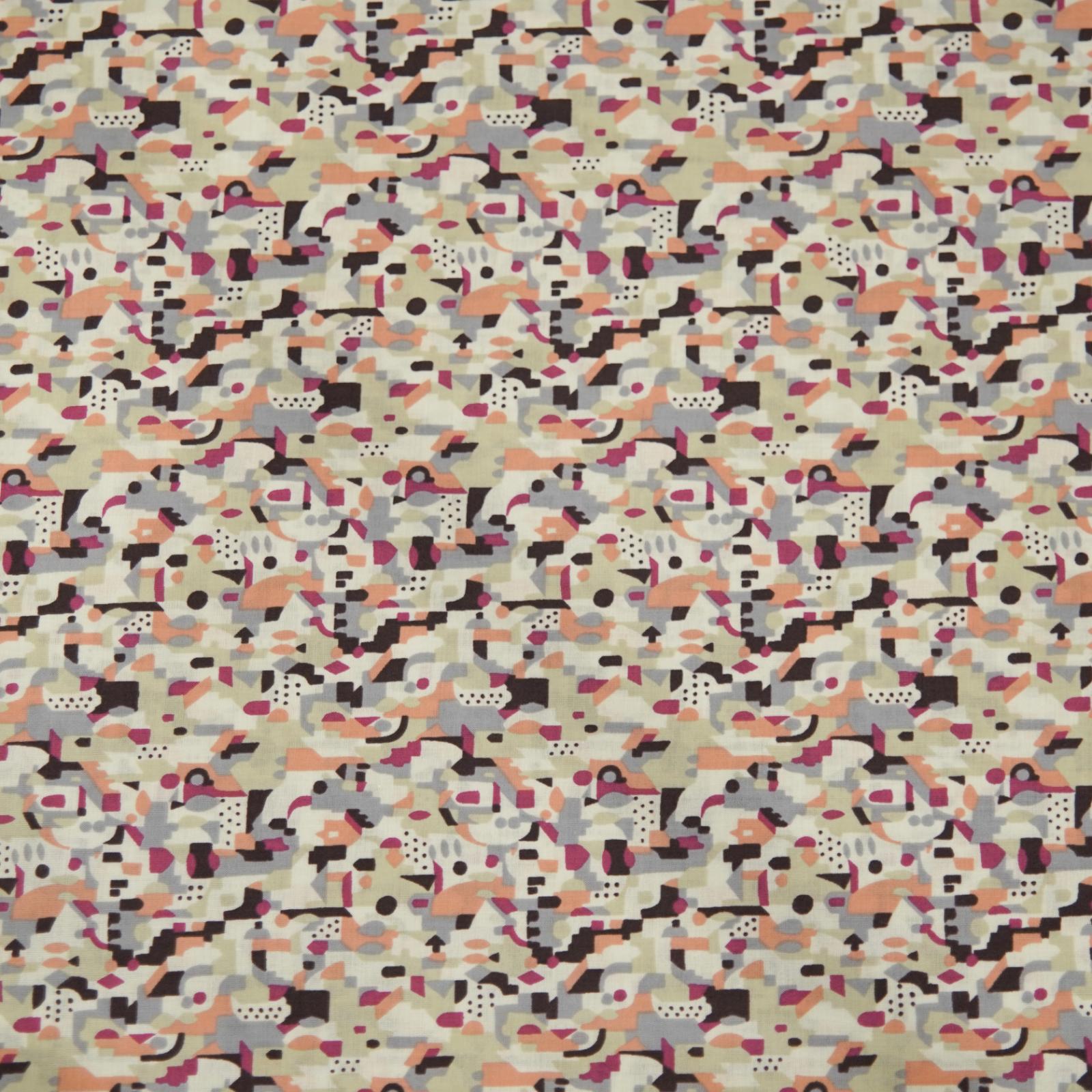 Hokkoh Fabric - Lawn Fabric - Abstract Purple