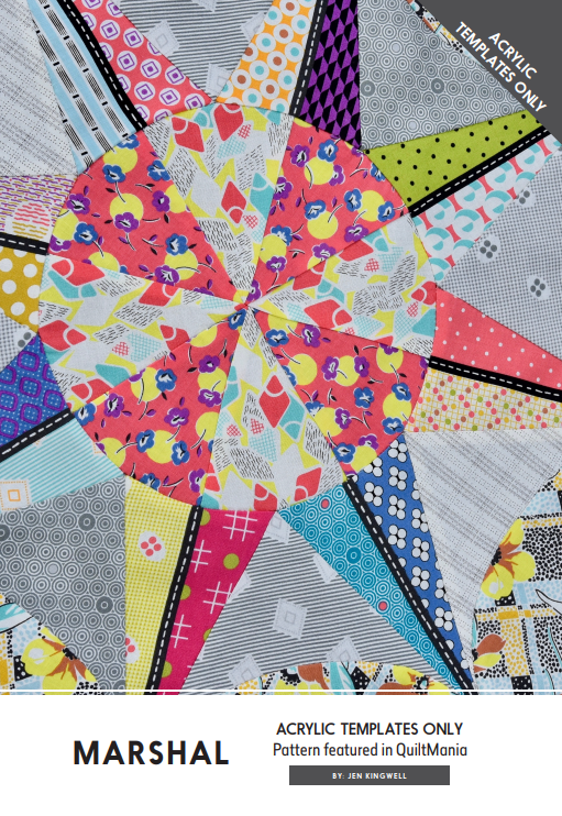 Marshall Mystery Quilt by Jen Kingwell - Complete Template Set