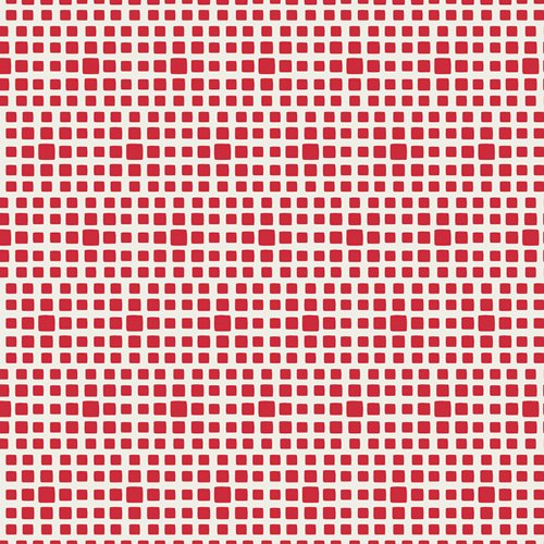 Art Gallery Fabrics - Squared Elements - Pomegranate
