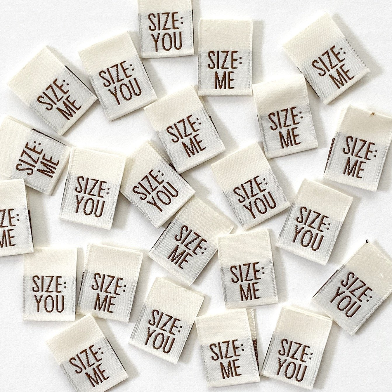 Kylie and the Machine Labels - Size Me / Size You