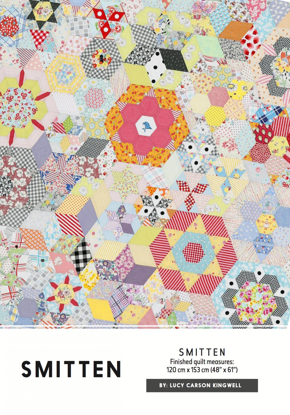 Smitten Pattern by Lucy Carson Kingwell for Jen Kingwell Designs
