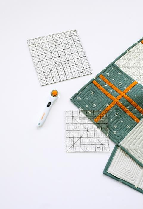 Square Up Ruler 6 inch / Sew Kind of Wonderful