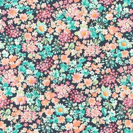 Robert Kaufman - London Calling 8 - Floral - Spring