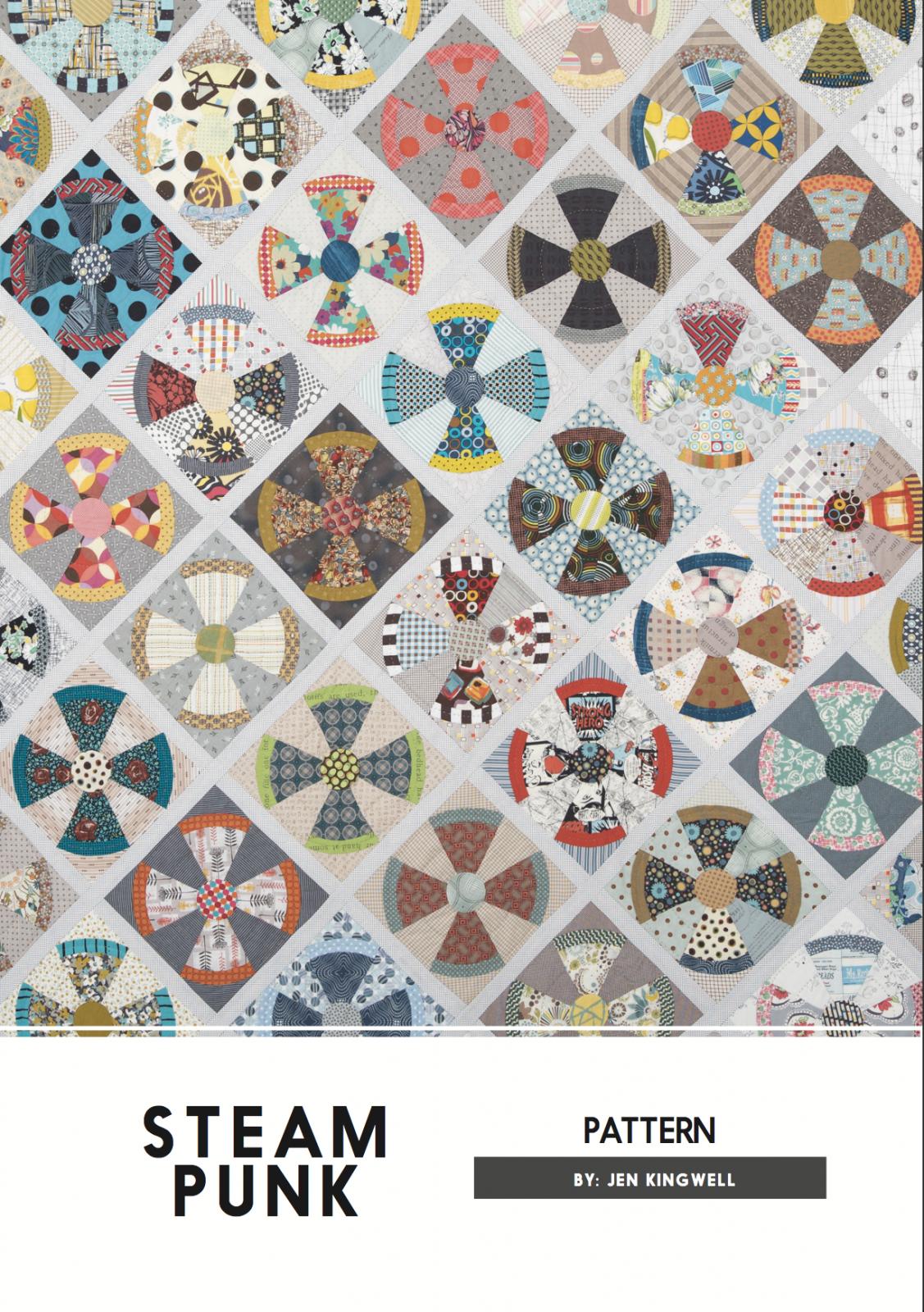 Steam Punk Pattern by Jen Kingwell Designs