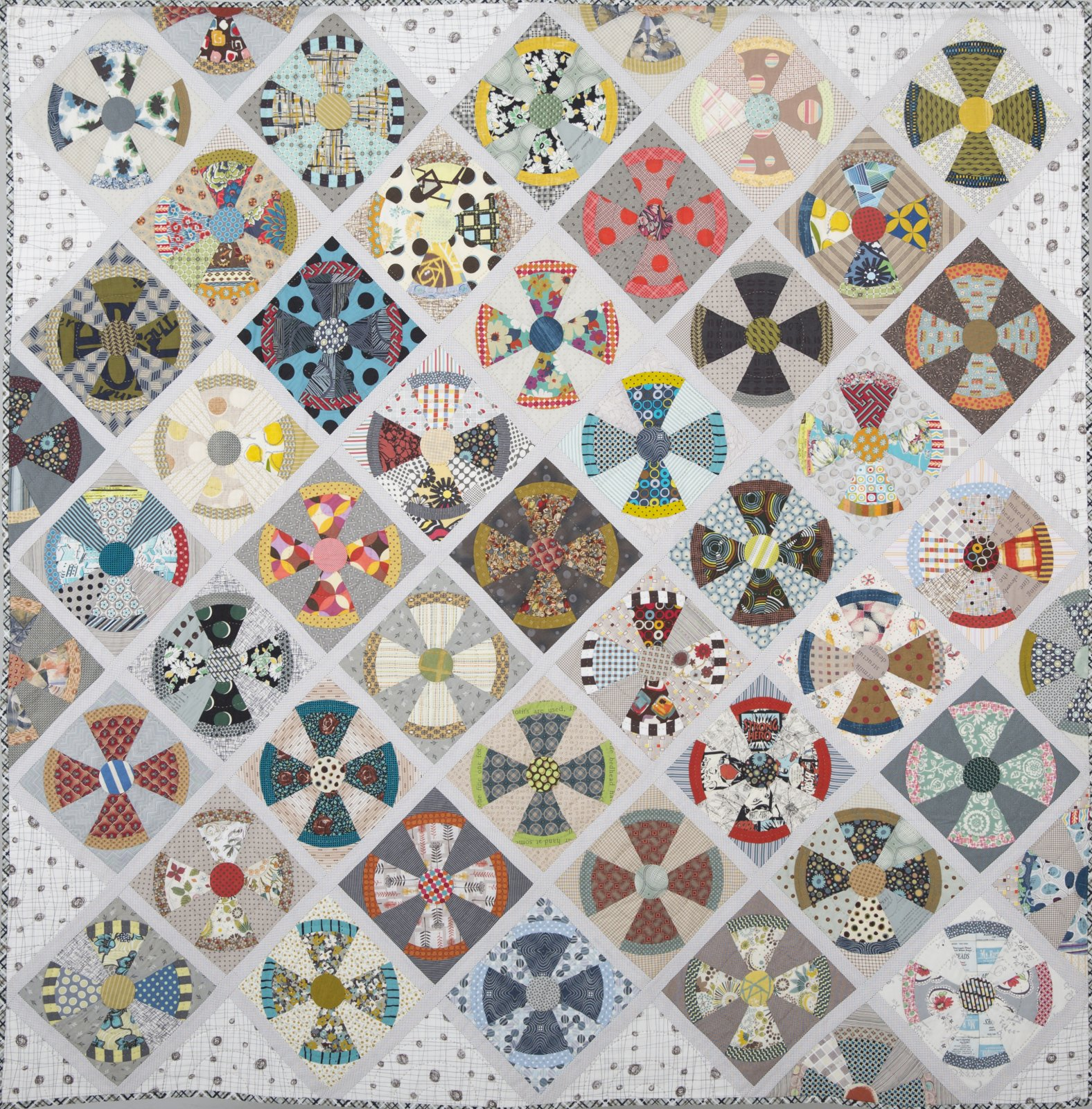 Steam Punk Pattern by Jen Kingwell Designs - 858499005095 : steampunk quilt pattern - Adamdwight.com