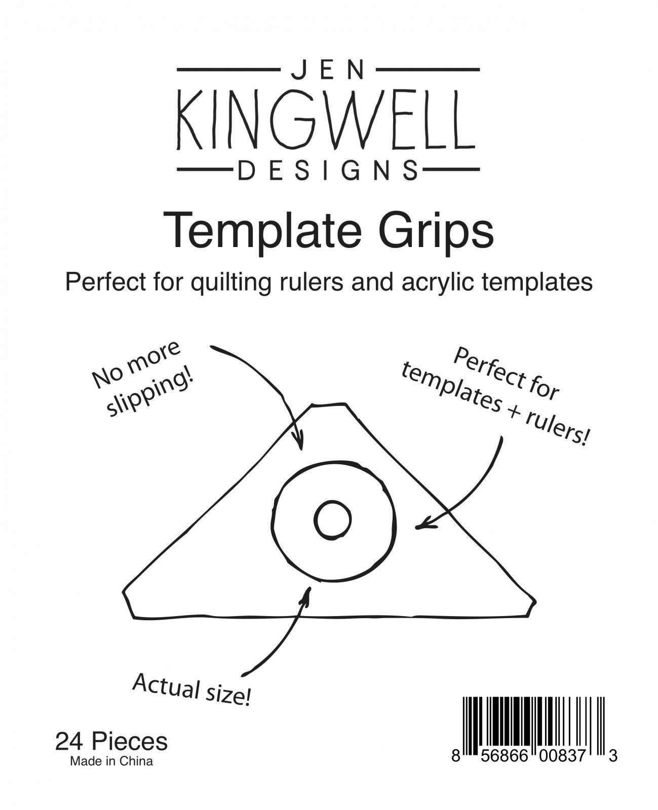 Template Grips by Jen Kingwell