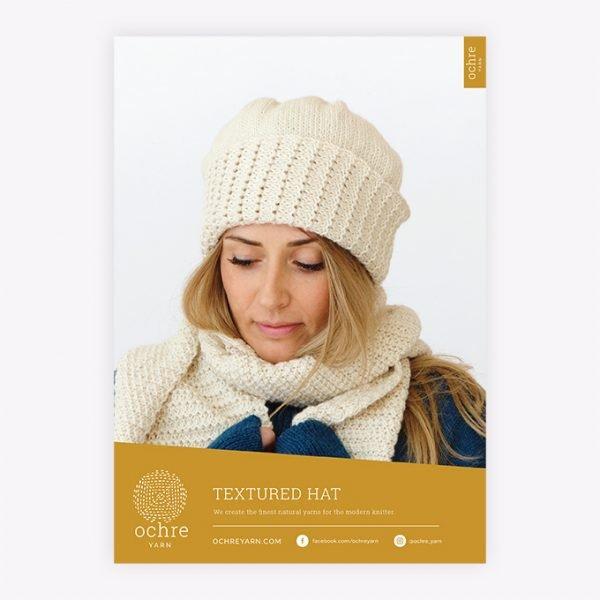 Ochre Yarn - Textured Hat Pattern