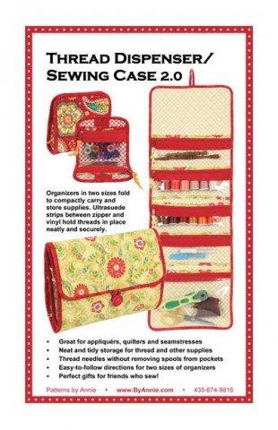 Patterns by Annie - Thread Dispenser Sewing Case 2.0